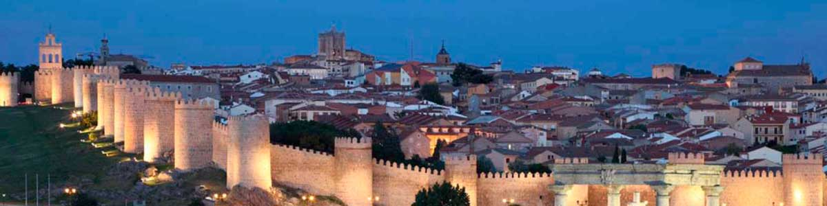 Alquiler de gradas en Ávila