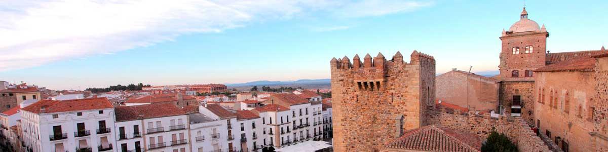 alquiler de gradas para eventos en Cáceres